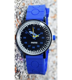 Pomo Analog Watch For Boys (Blue) - 0887
