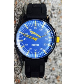 Pomo Analog Watch For Boys (Black) - 0891