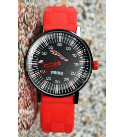 Pomo Analog Watch For Boys (Orange) - 0895