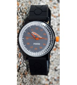 Pomo Analog Watch For Boys (Black) - 0898