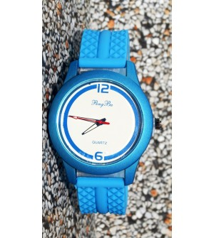 Pengba Quartz Analog Watch For Mens-Boys (Blue) - 0915