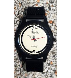 Pengba Quartz Analog Watch For Mens-Boys (Black) - 0923