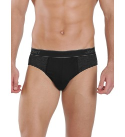 Jockey Black Melange & Black Fusion Brief