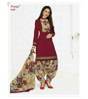 PRANJUL-PRIYANKA-VOL-11-PATIALA-SPECIAL-COTTON-DRESS-Salwar Suit-1105