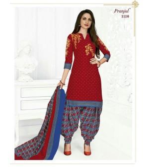 PRANJUL-PRIYANKA-VOL-11-PATIALA-SPECIAL-COTTON-DRESS-Salwar Suit-1110