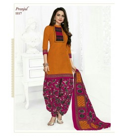 PRANJUL-PRIYANKA-VOL-11-PATIALA-SPECIAL-COTTON-DRESS-Salwar Suit-1117