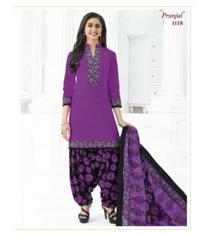 PRANJUL-PRIYANKA-VOL-11-PATIALA-SPECIAL-COTTON-DRESS-Salwar Suit-1118