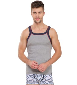 Jockey Grey Melange Vest