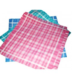 Shalini Girls & Women Multicolor Cotton Handkerchief  - Pack Of 12