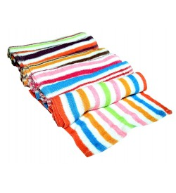 Multi Colour Soft Lunch Towel - 0024- [Pack Of 24 Pcs]