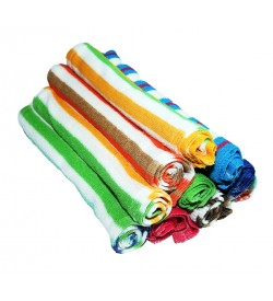Multi Colour Soft  Lunch Towel - 0027- [Pack Of 24 Pcs]