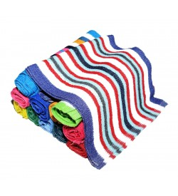 Multi Colour Soft Lunch Towel - 0030 - [Pack Of 24 Pcs]