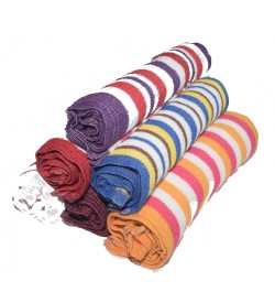 Multi Colour Soft Lunch Towel - 0033- [Pack Of 12 Pcs]