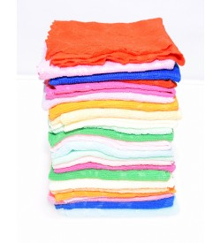 Sofine Very Soft Cotton Handkerchief For Ladies/Kids - 8376 - [Pack Of 24 Pcs]