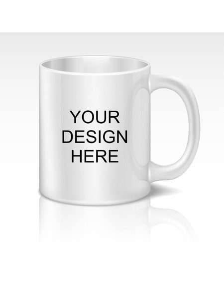 Samudhraa Custom Professional Coffee Mug - Add Logo & Text And More
