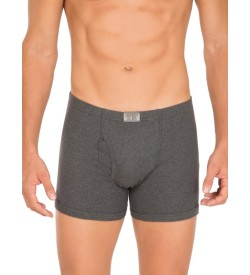 Jockey Charcoal Melange Boxer Brief