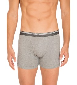 Jockey Grey Melange Boxer Brief