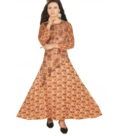 Kaylee Printed Kurta For Women & Girls - 90006