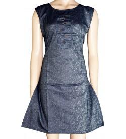 Lepsy T-5011 Gray Kurti For Women's And Girls - KU_1587