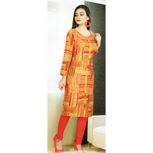 Aanchi Mannat Multi Colour Designed Full Sleeve Kurti For Women's And Girls - KU_106
