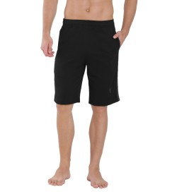 Jockey Black & Graphite Knit Sport Shorts - 9426