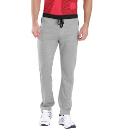 Jockey Grey Melange & Black Sports Track Pant - 9510