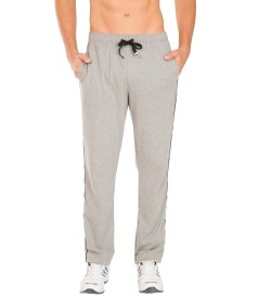 Jockey Grey Melange Jersey Pants - 9500