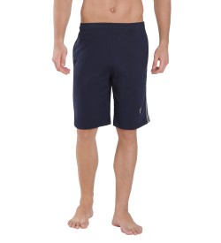 Jockey Navy Knit Sport Shorts - 9426
