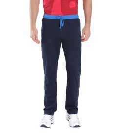 Jockey Navy & Neon Blue Sports Track Pant - 9510