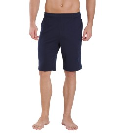 Jockey Navy & Seaport Teal Knit Sport Shorts - 9426