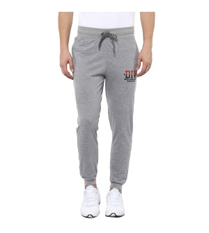 Ranger Joggers Gray Milange Mens Lower with Zipper Pocket