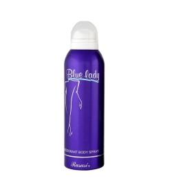 Rasasi Blue Lady Deodorant Body Spray for Women, 200ml