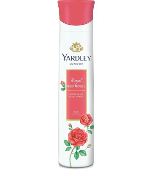 Yardley London - Royal Red Roses Refreshing Deo for Women, 150ml