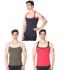 ELEGANT GYM VEST 11 (PACK OF 3) - 01