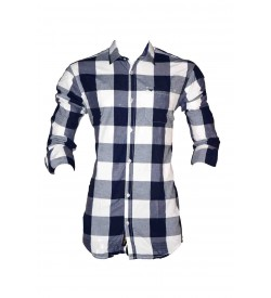 Black Booster Casual Shirt For Mens & Boys - SH7472
