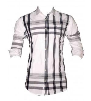 Black Booster Casual Shirt For Mens & Boys - SH7481