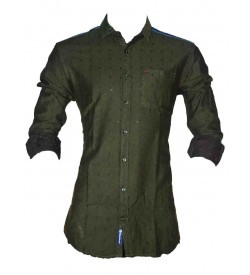 Black Booster Casual Shirt For Mens & Boys - SH7486