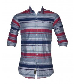 Black Booster Casual Shirt For Mens & Boys - SH7527