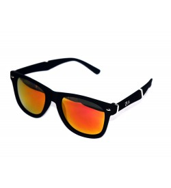Ren Bei Wayfarer Sunglasses (Black) - SP6952