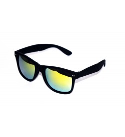 Tigers Pocket Folding Wayfarer Sunglasses (Black) - SP7007