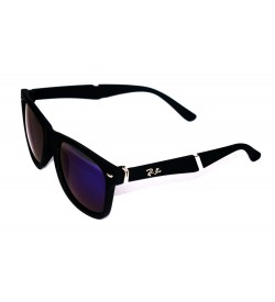 Ren Bei Wayfarer Sunglasses (Black) - SP7017