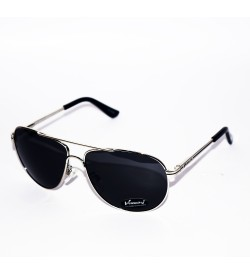 Velocity Aviator Unisex Sunglasses Black - SP7020
