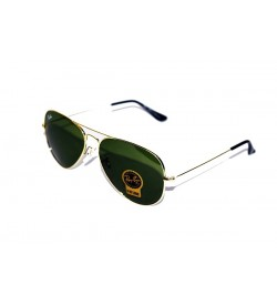 Ray-Ban Aviator Sunglasses  (Green) For Mens & Boys - SP7668