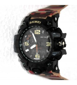 Skmei Digital Multicolor Dial Men's & Boy's Digital Watch - W-10