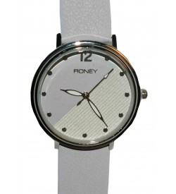 FIONEY Gray & White Colour Girls Watch Pack Of 2