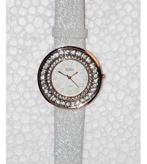 KMS Moving Beeds Silver & Light Gold Colour Watch - For Women Pack Of 2 - W6421