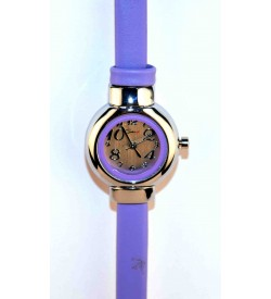 Genx Best Compo Pack Of 3 Black & Pink & Purple Colour Watch For Girls & Women - W6738