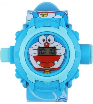 Doraemon Digital Projector Watch - For Boys & Girls