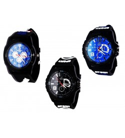 SPORT 3 Colour Best Compo Pack Of 3 Watch For Boys & Mens - W6817