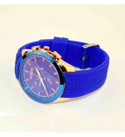 RADD Blue & Red Colour New Style Best Compo Pack Of 2 Watch For Boys & Mens - W-6560